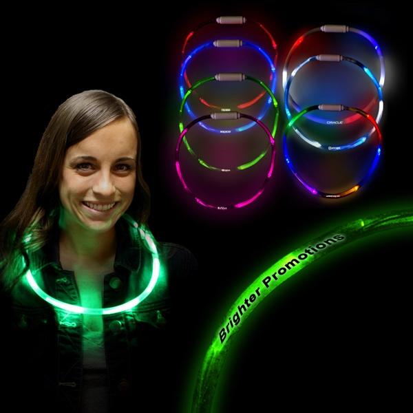 "27"" LED Glow Light Up Necklace"
