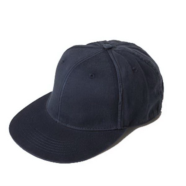 Unisex Flat Bill Fitted Cap With Structured Crown Photo