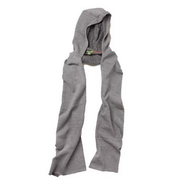 Unisex Eco-fleece Hooded Scarf Photo