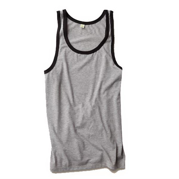 S- X L - Men's Contrast Jersey Tank Photo