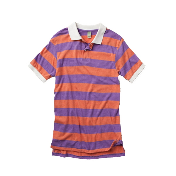 Ugly (tm) - 2 X L - Men's Stripe Polo Shirt Photo