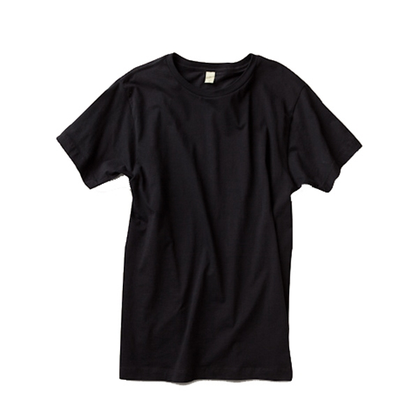 S- X L - Men's Short Sleeve Crew T-shirt Made Of 100% Pima Cotton Photo