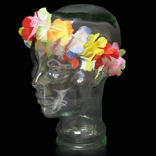 "21"" Jumbo Flower Headband, Blank Photo"
