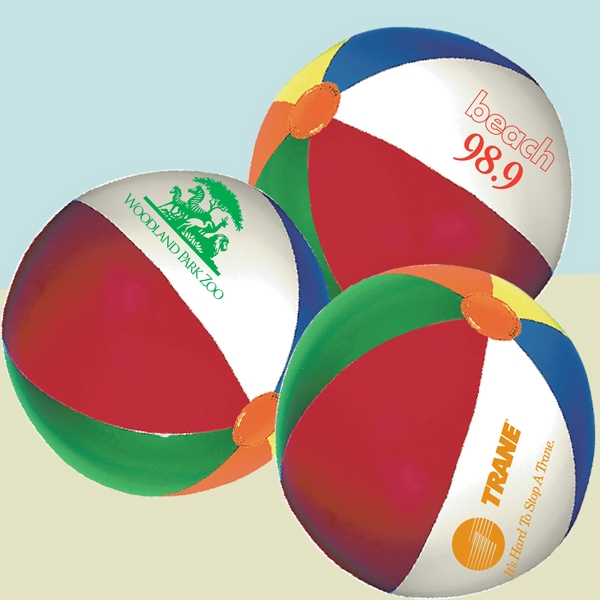 "4.5"" Diameter Mini Beach Ball Photo"