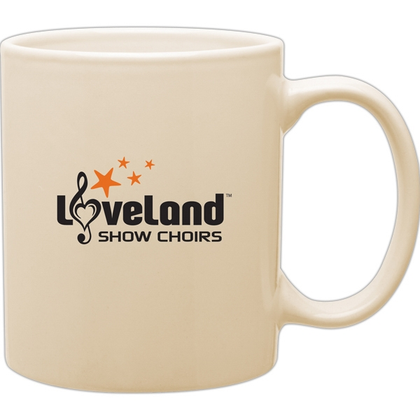Almond - Glossy Stoneware 11 Oz. Mug With C-handle Photo