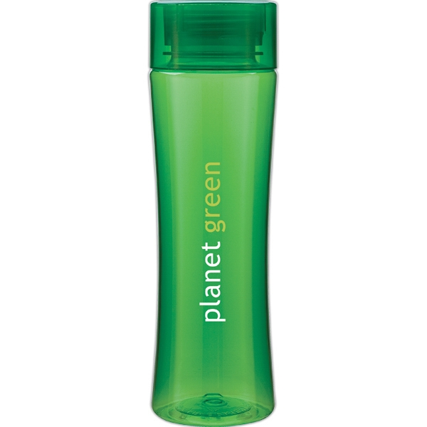 Stealth H2go (r) - Apple - 24 Oz Single Wall (bpa Free) Eastman Tritan (tm) Copolyester Bottle With Threaded Lid Photo