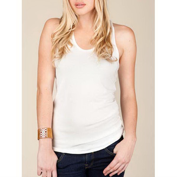 Women's Burnout Racer Tank Photo