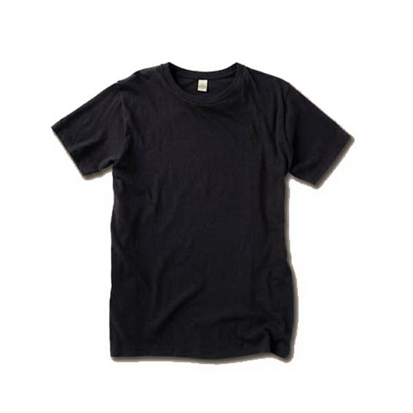 X  X S- X L - Unisex Organic Crew T-shirt With Ribbed Collar And Blind Stitching On Sleeves Photo