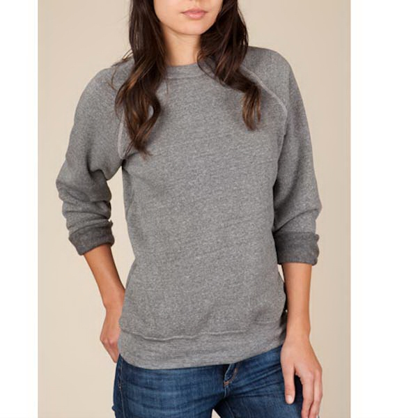 Champ - 2 X  - Eco Gray - Unisex Eco-fleece Sweat Shirt Photo