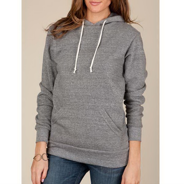 Hoodlum - 2 X  - Gray - Unisex Eco-fleece Pullover Hoodie Photo