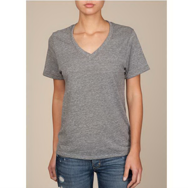 Boss - 2 X L Eco Gray - Unisex V-neck Shirt Photo