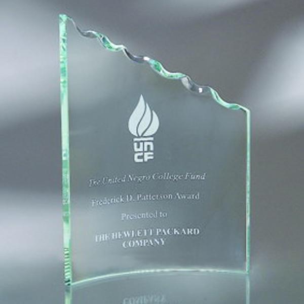 "Award-Clip Award, Rope Edge 9 1/2"""