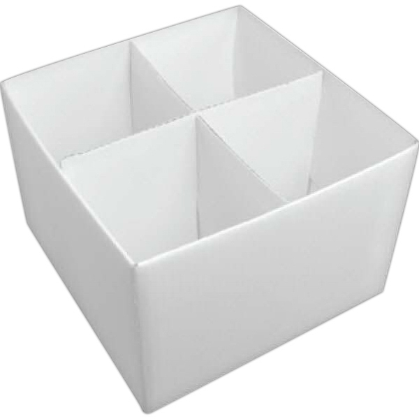 White Gift Box For 4 Mugs Photo