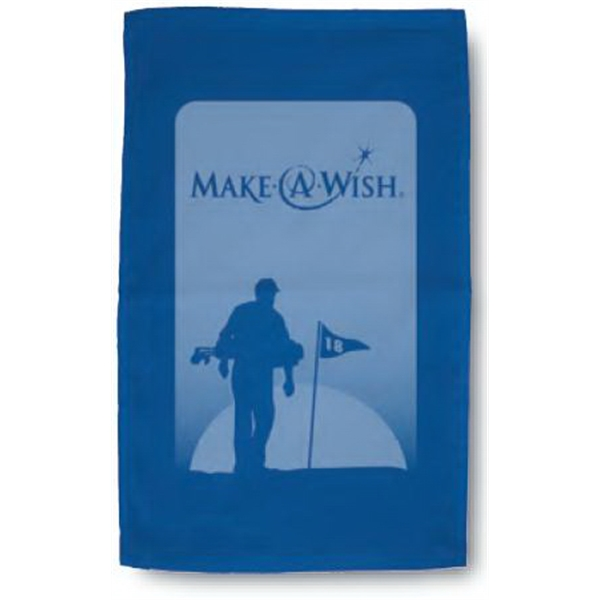 "Turkish Signature (tm) - Blank Color Towel - Ultra Weight 100% Cotton Golf Towel. 16"" X 25"" Photo"
