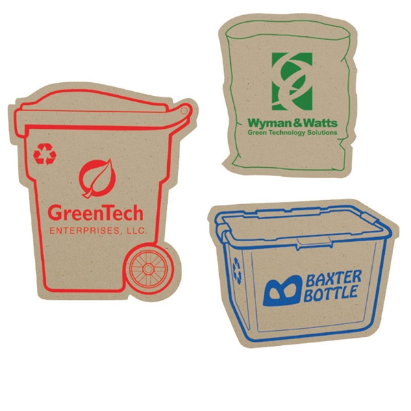 Bic (r) Ecolutions (r) - Recycled Paper Magnet Made From 100% Post-consumer Recycled Fiber Photo