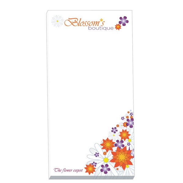 "Eco friendly 3"" x 6"" Non-Adhesive Scratch Pad"