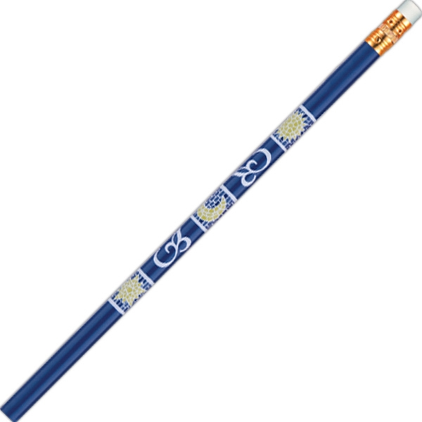 Abert Special (tm) - 2 Colors - Royal Blue - Pencil With Bonded Core In Quality Round Wood Barrel Photo