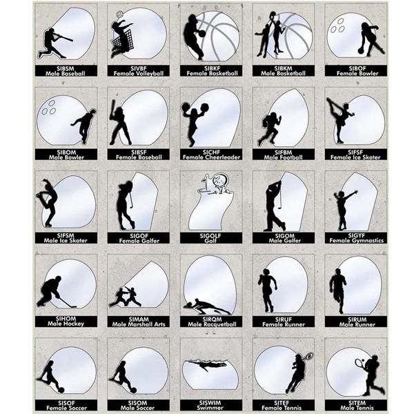 Silhouette Award - Golf