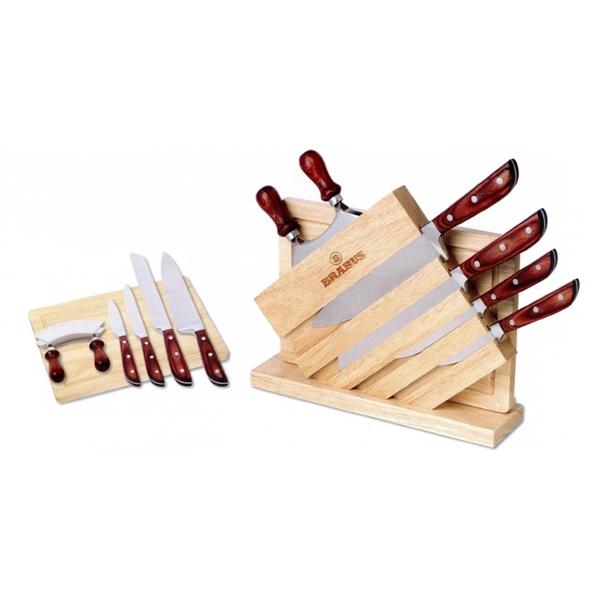 7 Piece Knife Board Set