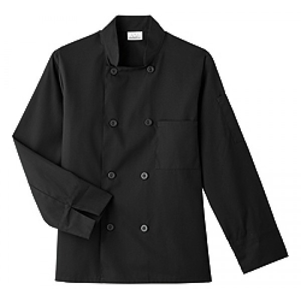 White Swan - Sa18000 White Swan Men's 8 Button Chef Jacket - 2 Colors Available Photo