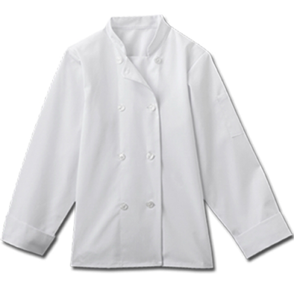 White Swan - Sa18026 White Swan Ladies 8 Button Chef Jacket - 2 Colors Available Photo