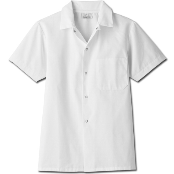 White Swan - Sa18010 White Swan Men's Chef Cook Shirt - 2 Colors Available Photo