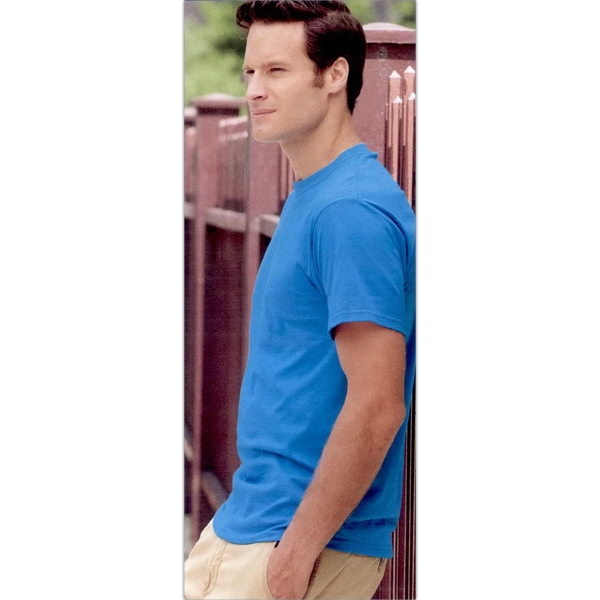 Fruit Of The Loom (r) - Colors S- X L - Adult T-shirt. 5.0 Oz., Pre-shrunk 100% Cotton. Blank Product Photo
