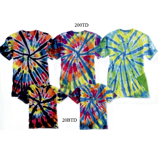 Gildan (r) - Youth Rainbow Cut-spiral T-shirt Blank Product Photo