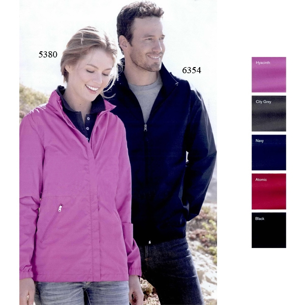 Colorado Clothing (r) Anorak - S- X L - Ladies' Packable Jacket Packs Into Zippered Side Pocket. Blank Product Photo