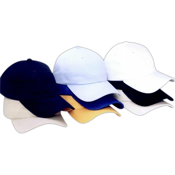 Sportsman (tm) - Unstructured Low-profile Cap With Pre-curved Visor. Blank Product Photo