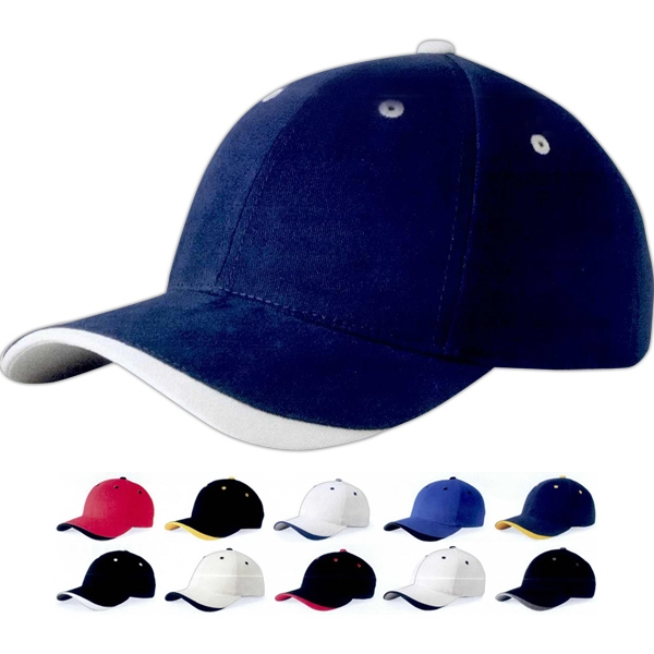 Sportsman (tm) Dominator (tm) - Structured Cap With Tuckaway Velcro (r) Closure. Blank Product Photo