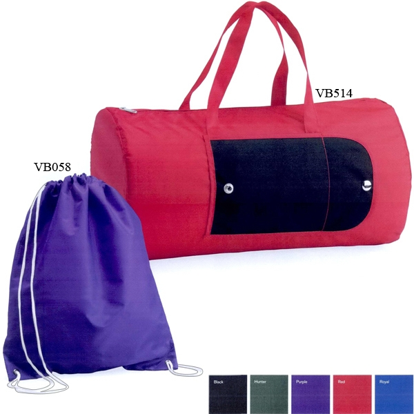 Valubag (tm) - Nylon Cinch Bag For Holding Your Valuables. Blank Photo