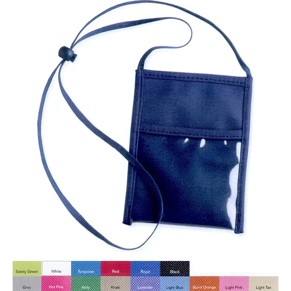 Liberty Bags (r) - Badge Holder. Keep Your Id And Documents Close. Blank Photo