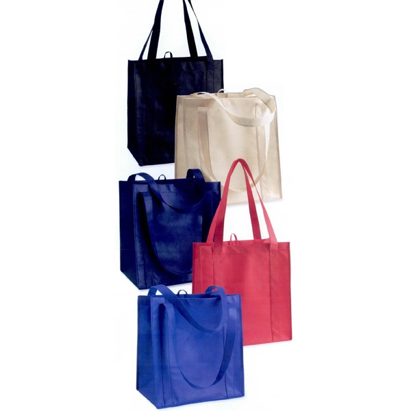 Liberty Bags (r) - Classic Shopping Bag Made Of Non-woven Polypropylene. Blank Photo