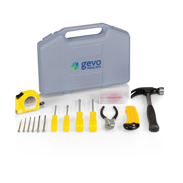 Essentials - Compact And Durable Tool Kit In Molded Plastic Case Photo