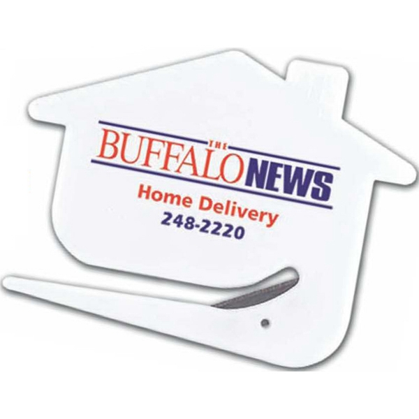 Happy House - House Shape Letter Opener With Protected, Stainless Steel Cutting Blade Photo
