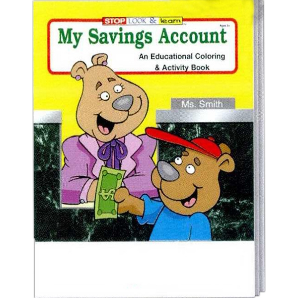 My Savings Account Coloring And Activity Book Photo