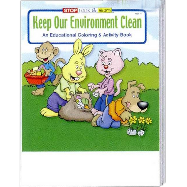 Keep Our Environment Clean Coloring And Activity Book Photo
