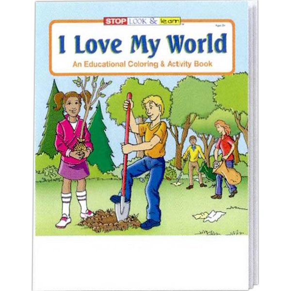 I Love My World Coloring And Activity Book Photo