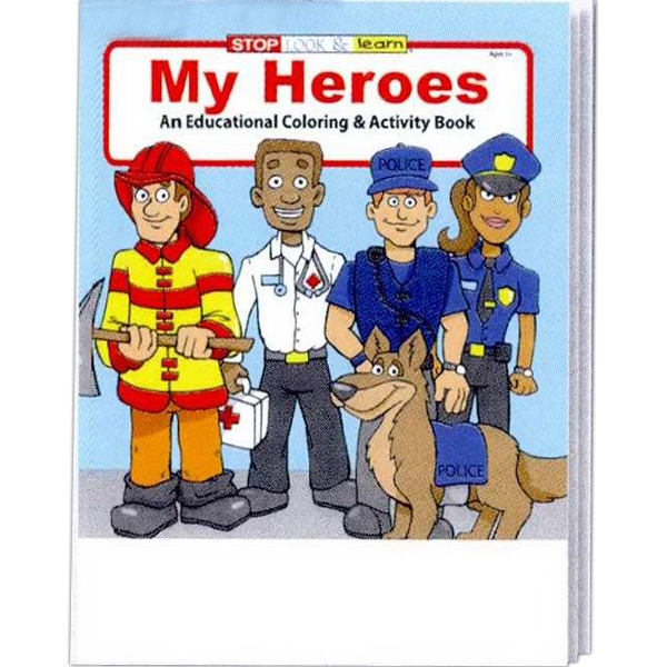 My Heroes Educational Coloring And Activity Book Photo