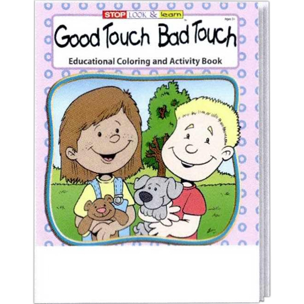 Good Touch Bad Touch Educational Coloring And Activity Book Photo