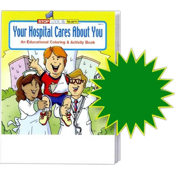 Your Hospital Cares About You Educational Coloring And Activity Book Photo