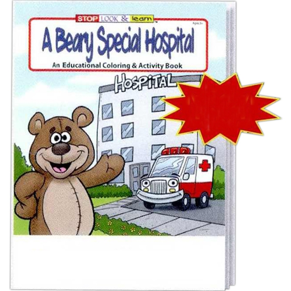 A Beary Special Hospital Educational Coloring And Activity Book Fun Pack Photo