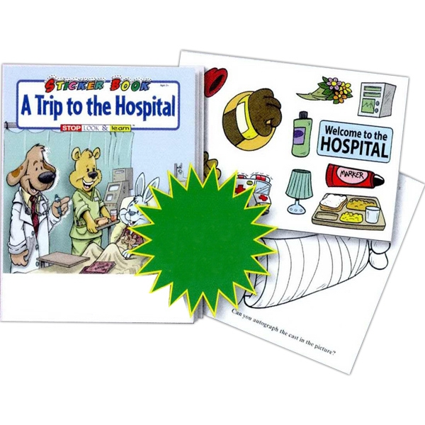 A Trip To The Hospital Sticker And Coloring Activity Book Photo