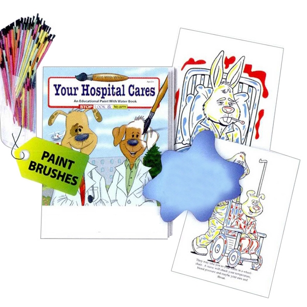 Your Hospital Cares Paint With Water Book Photo