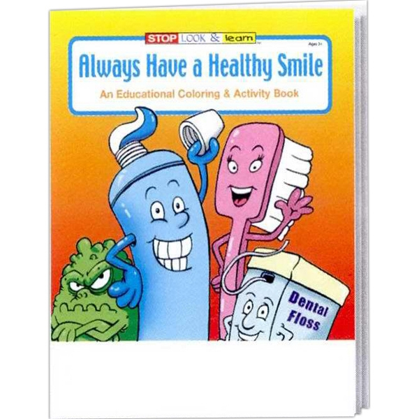 Always Have A Healthy Smile Coloring And Activity Book Fun Pack Photo