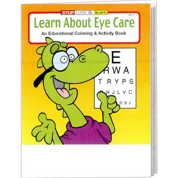 Learn About Eye Care Educational Coloring And Activity Book Photo
