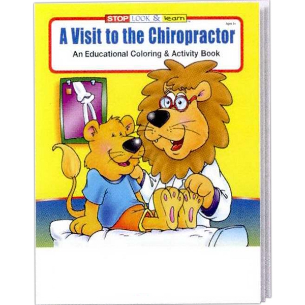 A Visit To The Chiropractor Educational Coloring And Activity Book Photo