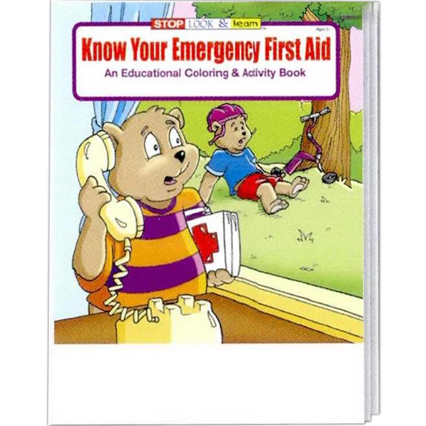 Know Your Emergency First Aid Coloring And Activity Book Photo