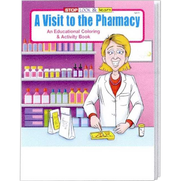 A Visit To The Pharmacy Educational Coloring And Activity Book Photo